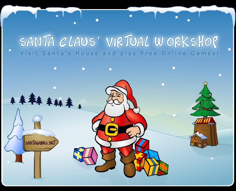 Santa Claus' Virtual Workshop