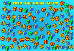 Find the right<br />Christmas present! - Christmas Ecard