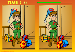Spot The differences! - Christmas Ecard