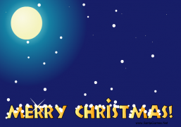 Waltz of the Snowflakes - Christmas Ecard