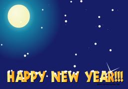 Happy New Year 2019 - Christmas Ecard