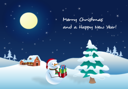 Merry Christmas and a Happy New Year! - Christmas Ecard