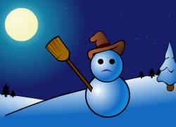 The Snowman - Christmas Ecard