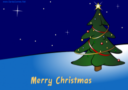 Merry Christmas and Best Wishes for 2020 - Christmas Ecard