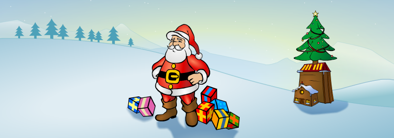free christmas ecards santagamesnet - Free Christmas Ecards Animated